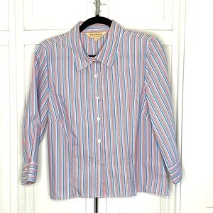 💕3 for $20💕 Norm Thompson Stripe Blouse